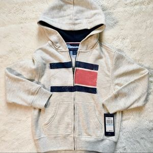 Tommy Hilfiger hooded zip up jacket